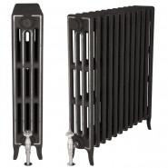 Carron Victorian 4 Column 660mm Cast Iron Radiator